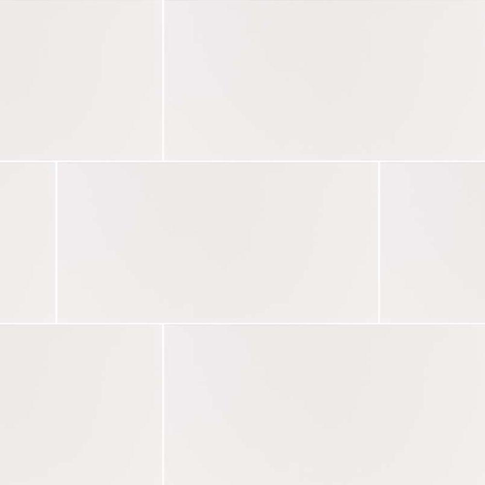 Dymo White 12X36 Glossy Ceramic Tile