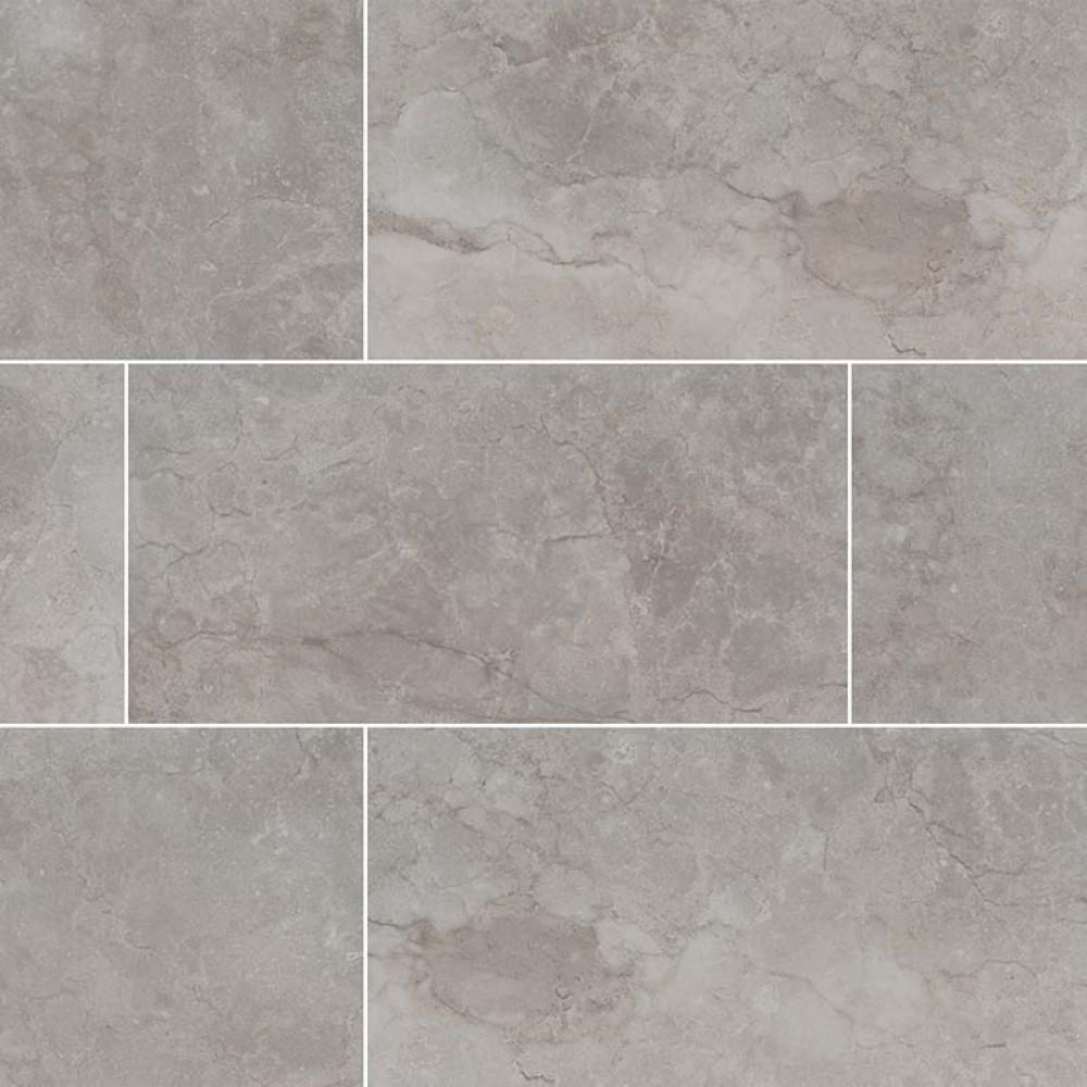 Essentials Ansello Grey Bullnose 3X18 Matte Ceramic Tile
