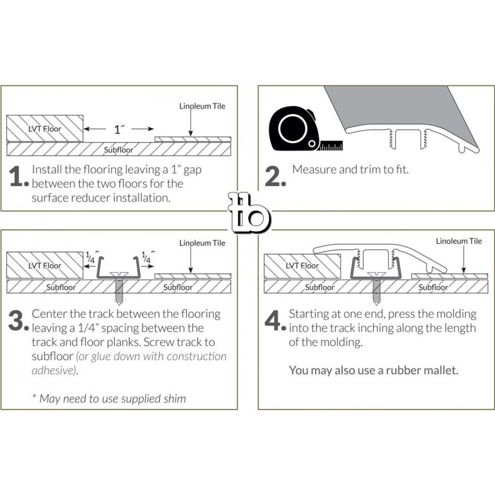 Cyrus Ryder 1-3/4X94 Vinyl Reducer