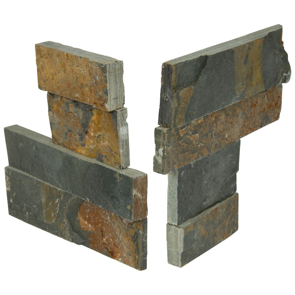 Gold Rush 4.5X9 Split Face Mini Corner Ledger Panel