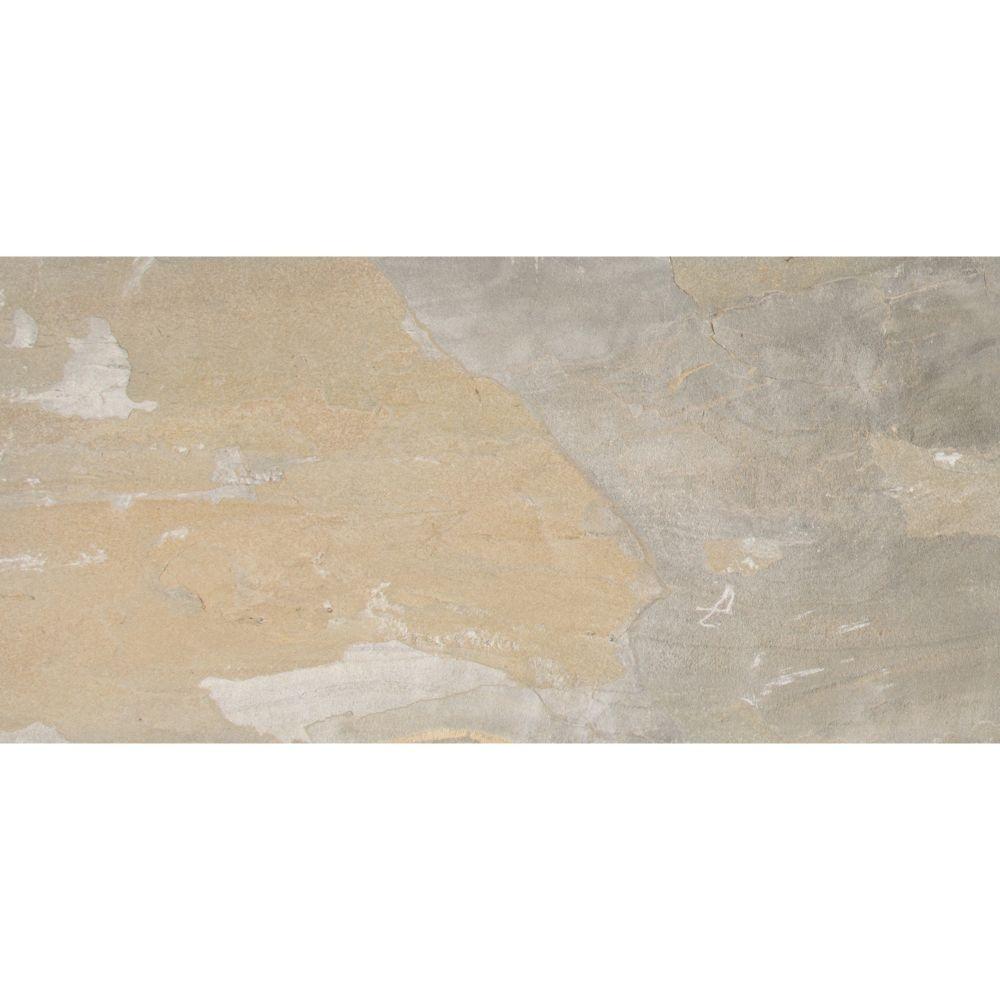 Golden White 12X24 Gauged