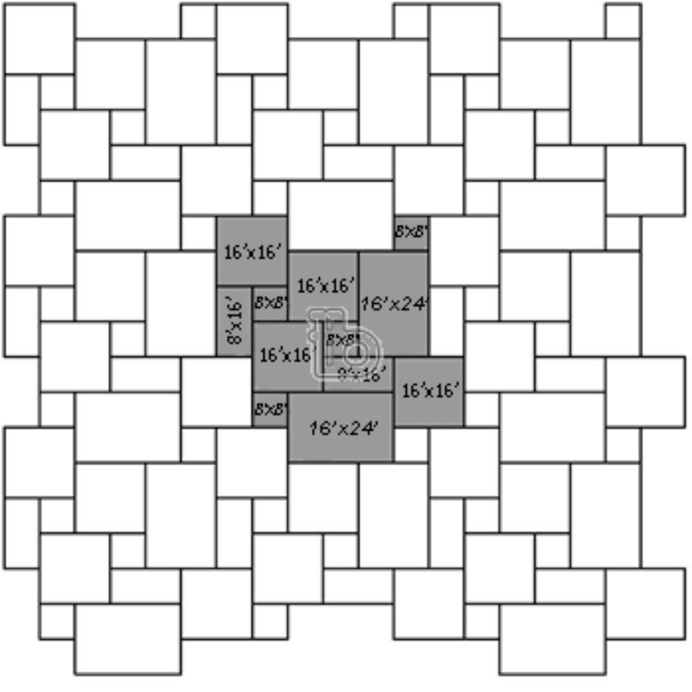 Golden White 16 Sft Per Kit Gauged Quartzite Tile