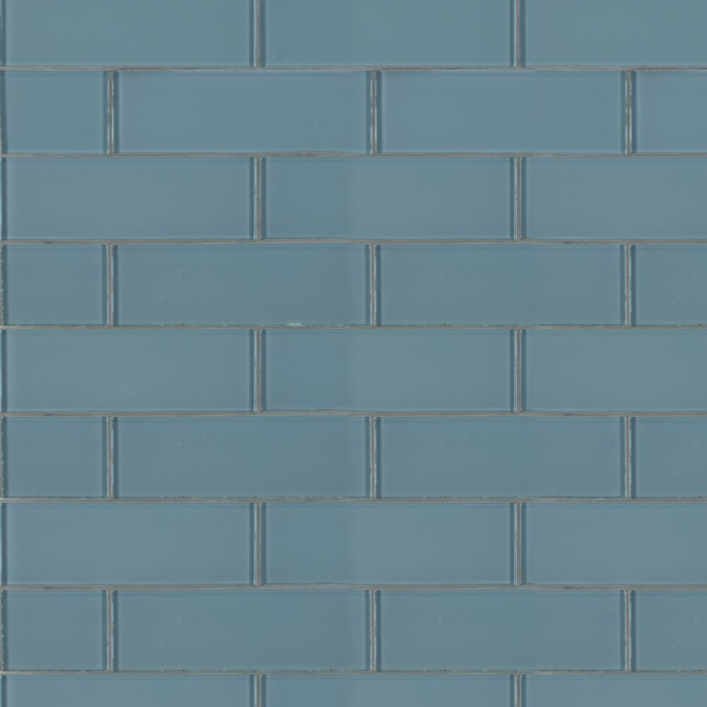 - Harbor Gray 3x9 Backsplash Glass Subway Tile - Tilesbay.com