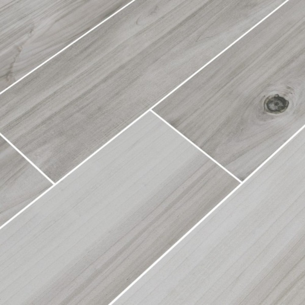 Havenwood Platinum 8X36 Matte Porcelain Tile