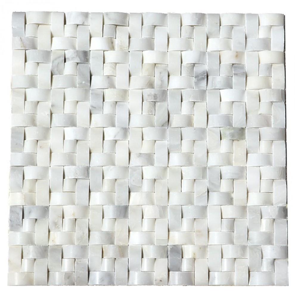 Arabescato Carrara Interwoven 12x12 Polished