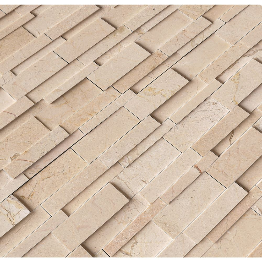Hedron Interlocking 3D Polished Pattern Mosaic