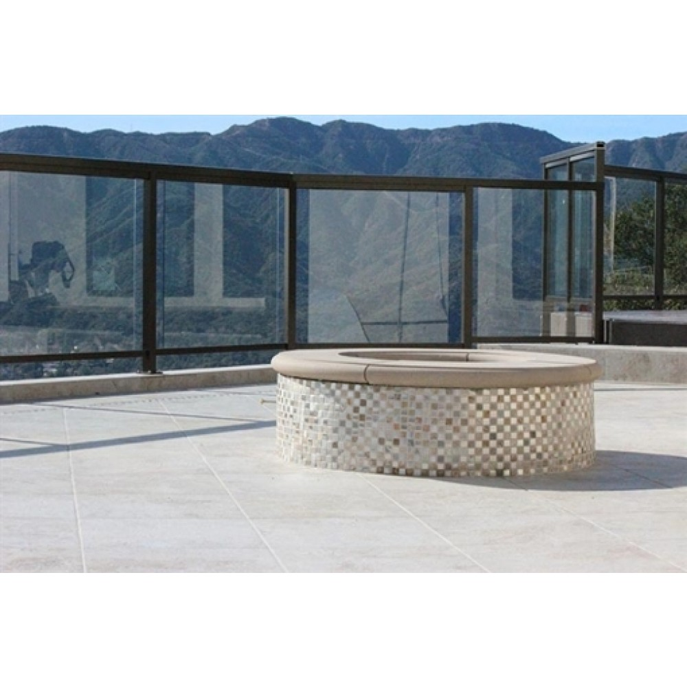 Platino Ivory 18X18 Glazed Porcelain Tile