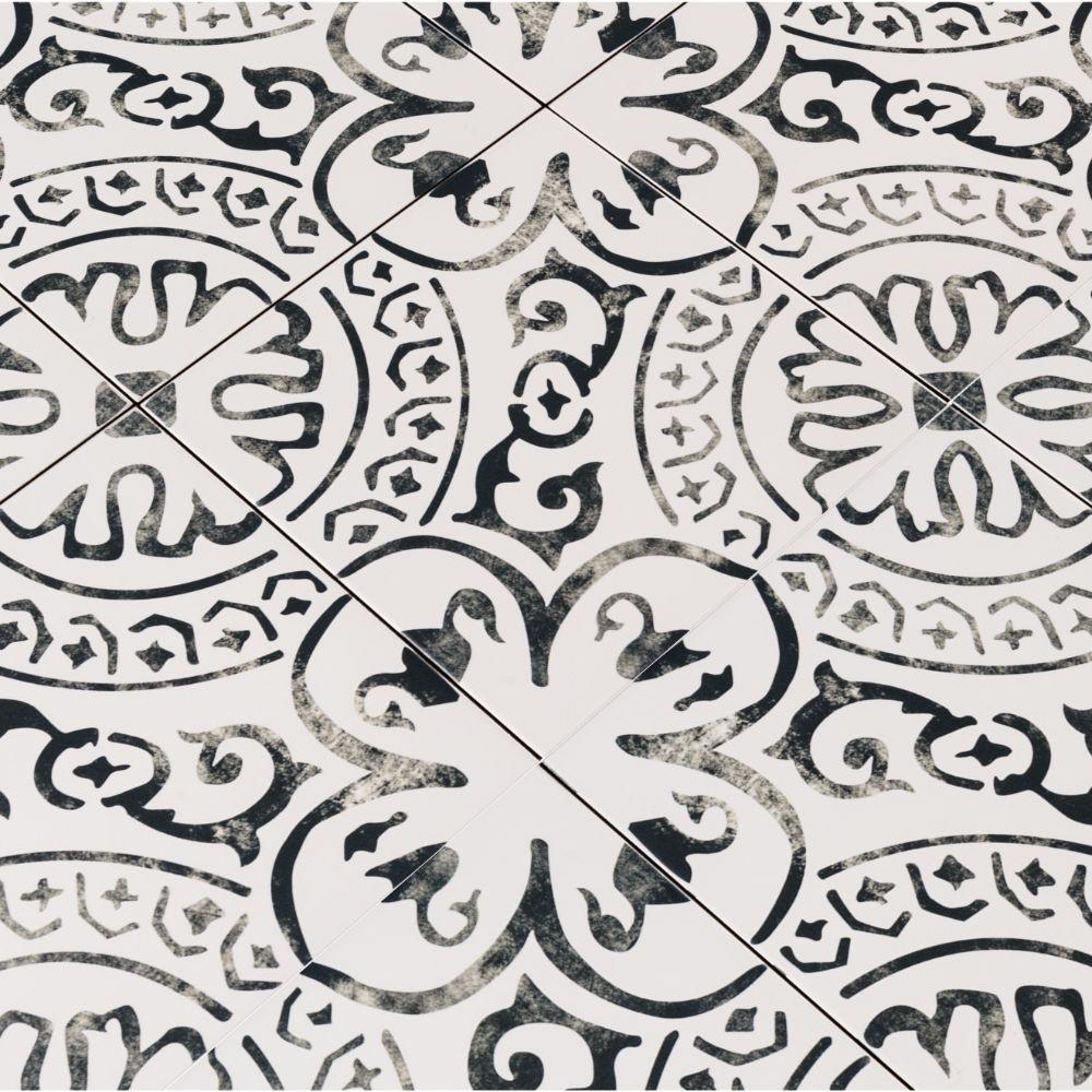 Kenzzi Paloma 8X8 Matte Porcelain Tile
