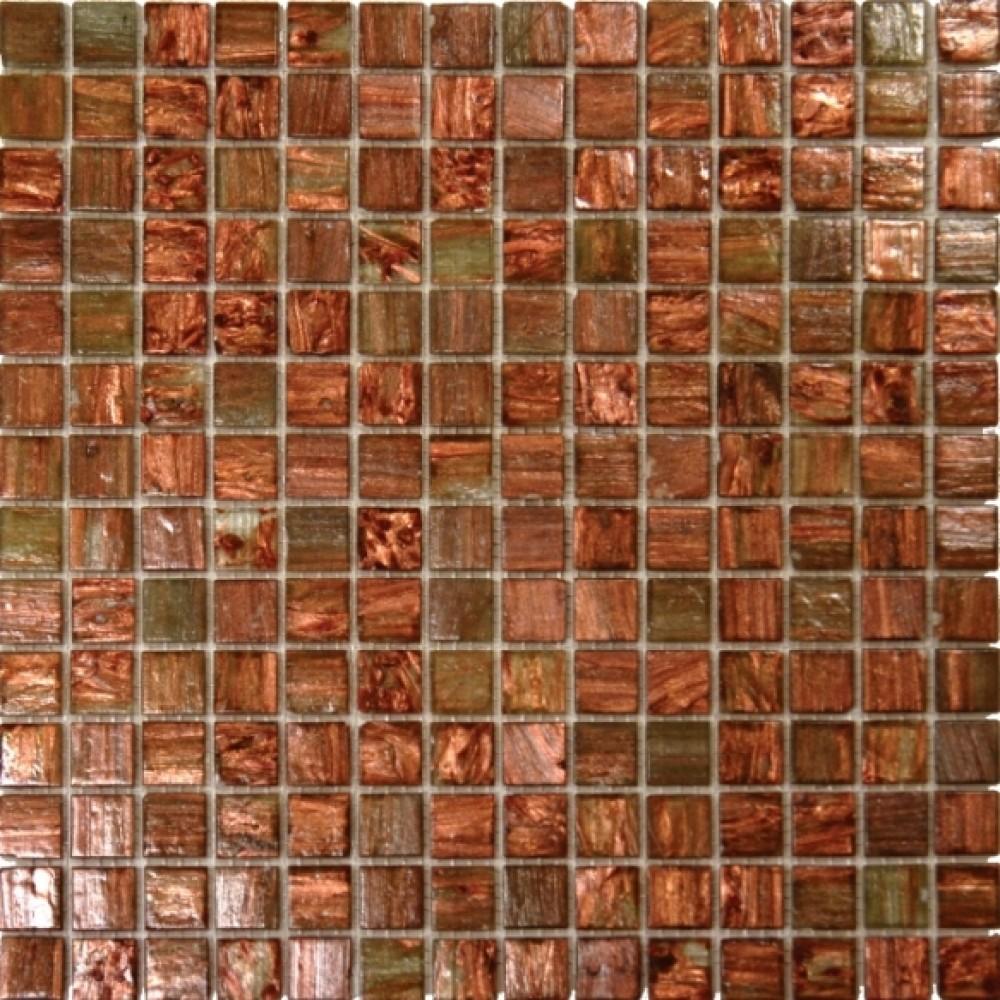 Light Brown Iridescent 3/4x3/4x4MM