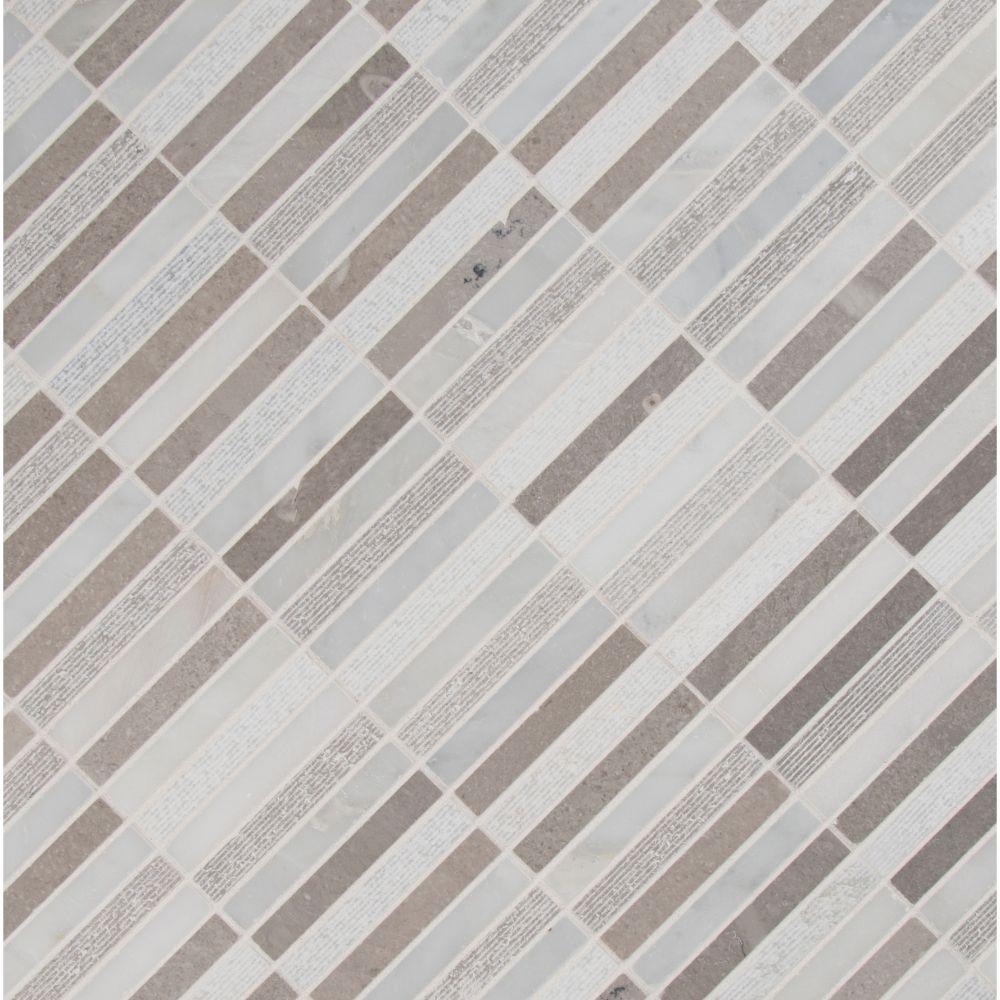 Linea Mixed Finish Pattern 10mm