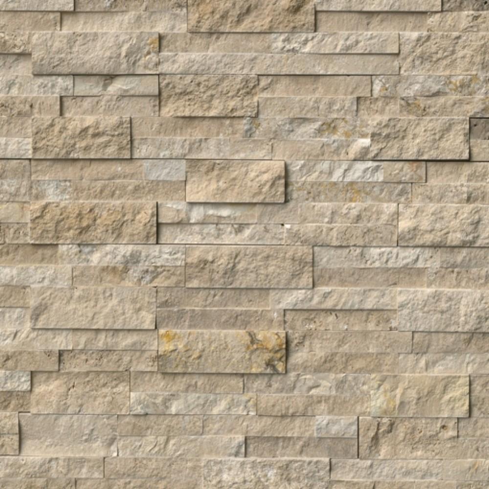 Durango Cream 6X18X6 Split Face Corner Ledger Panel