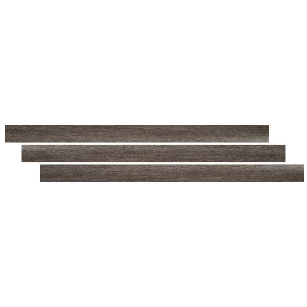 Ludlow / Charcoal Oak 1-3/4X94 Vinyl Reducer