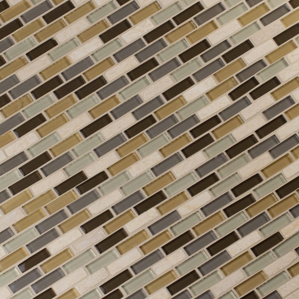 Luxor Valley Brick Pattern 8MM Mosaic