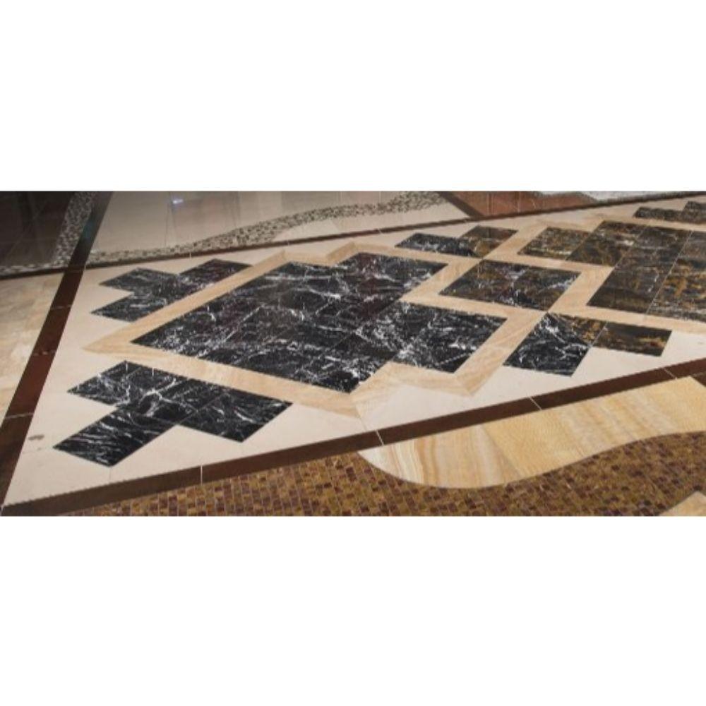 Michael Angelo 12X12 Polished Marble Floor Tile