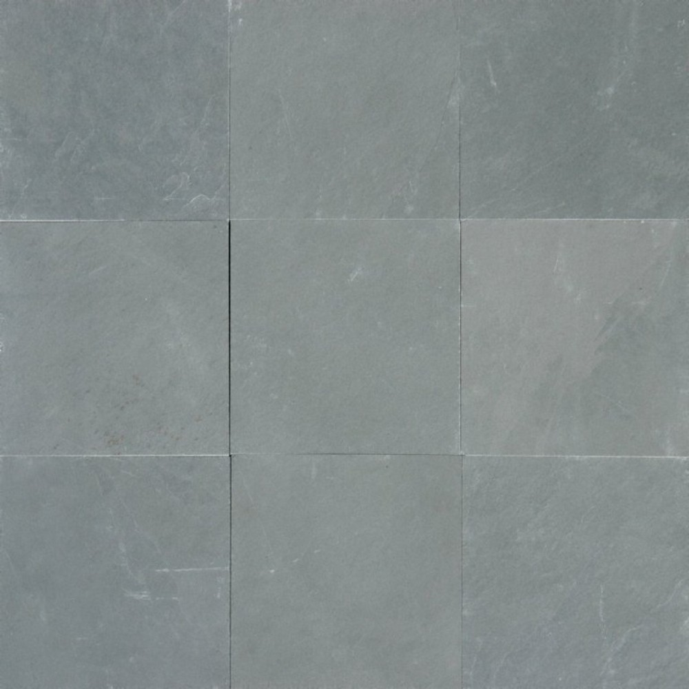 Montauk Blue 24X24 Gauged Slate Floor Tile