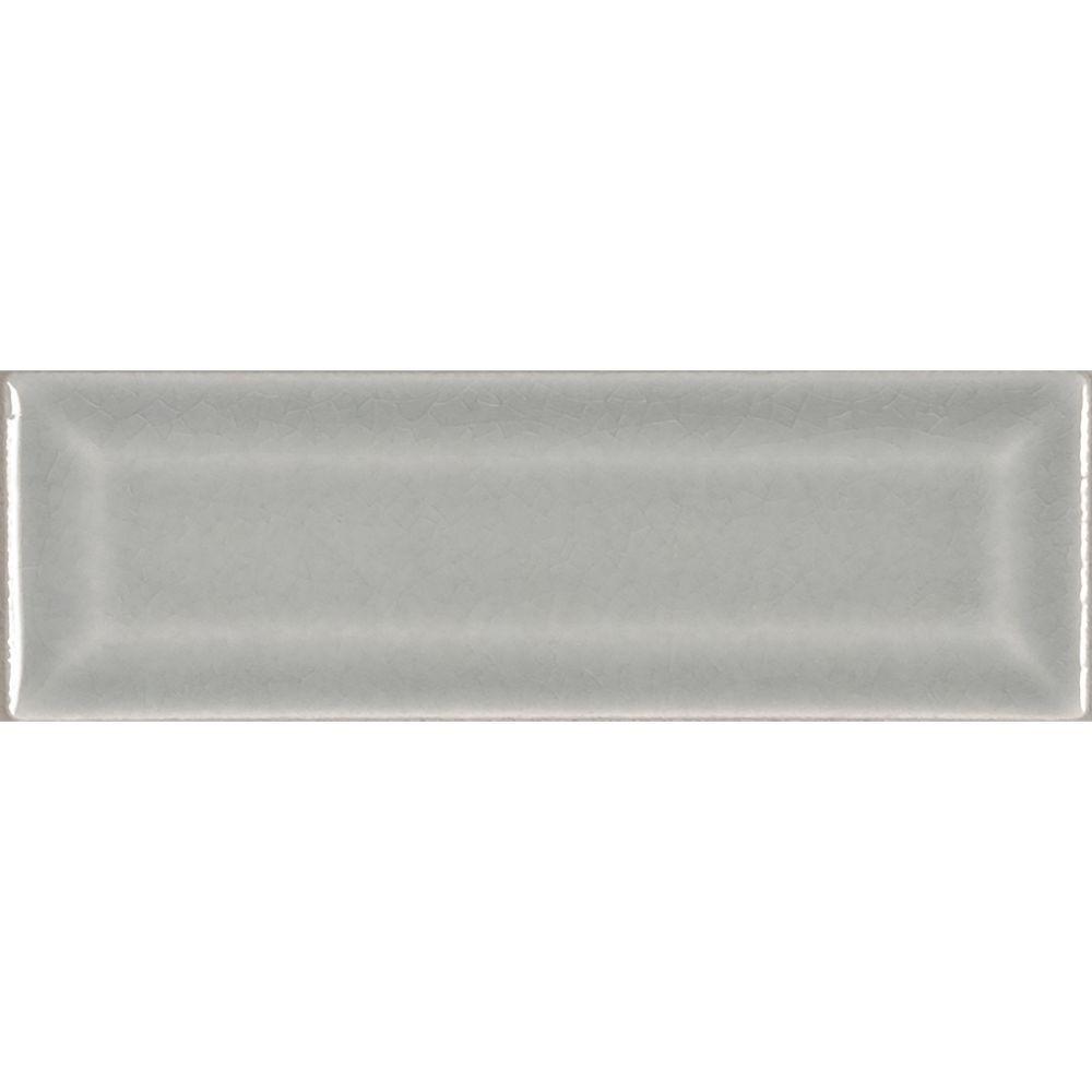 Morning Fog 2x6 Bevel Subway Ceramic Tile Tilesbay Com