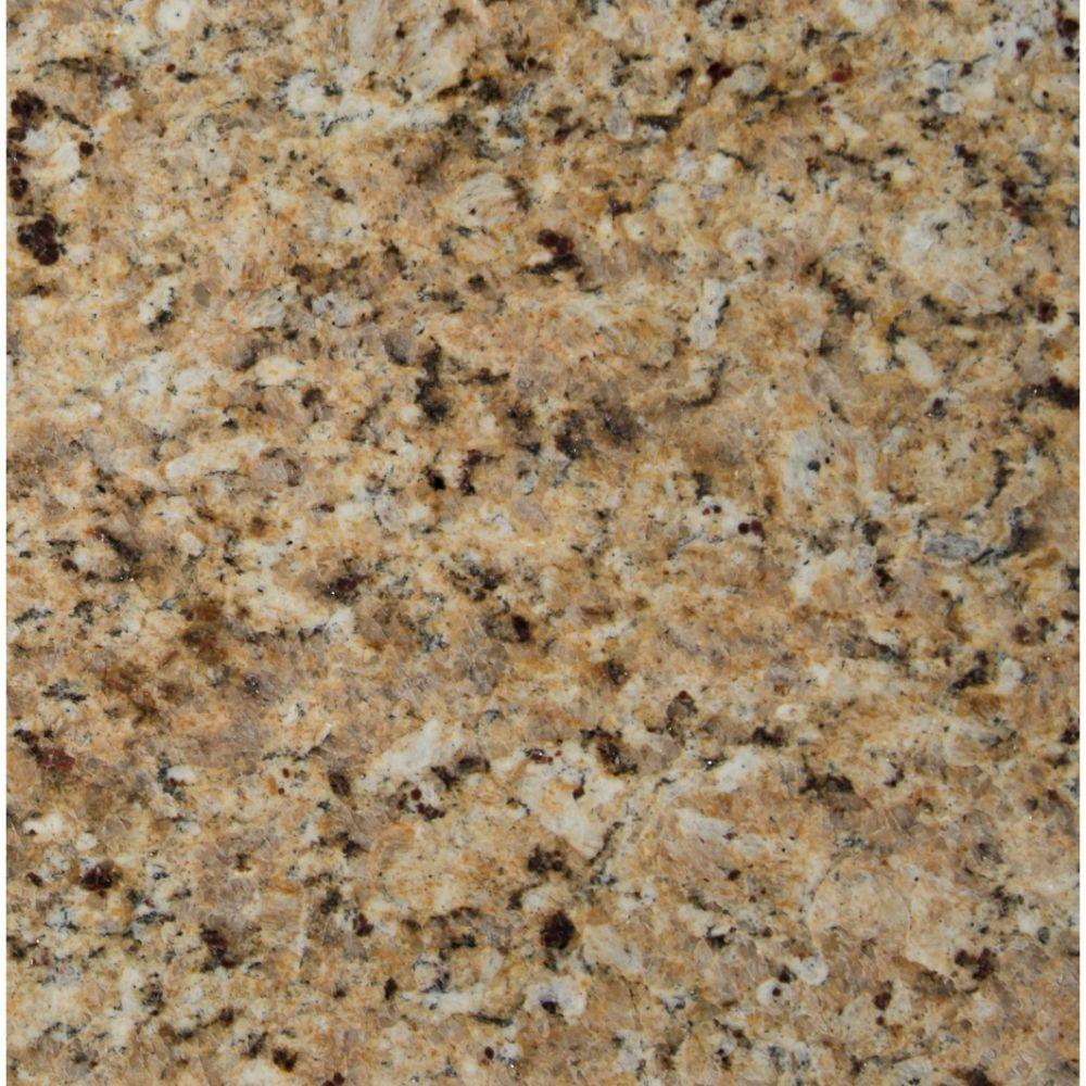 New Venetian Gold 18X18 Polished Granite Tile