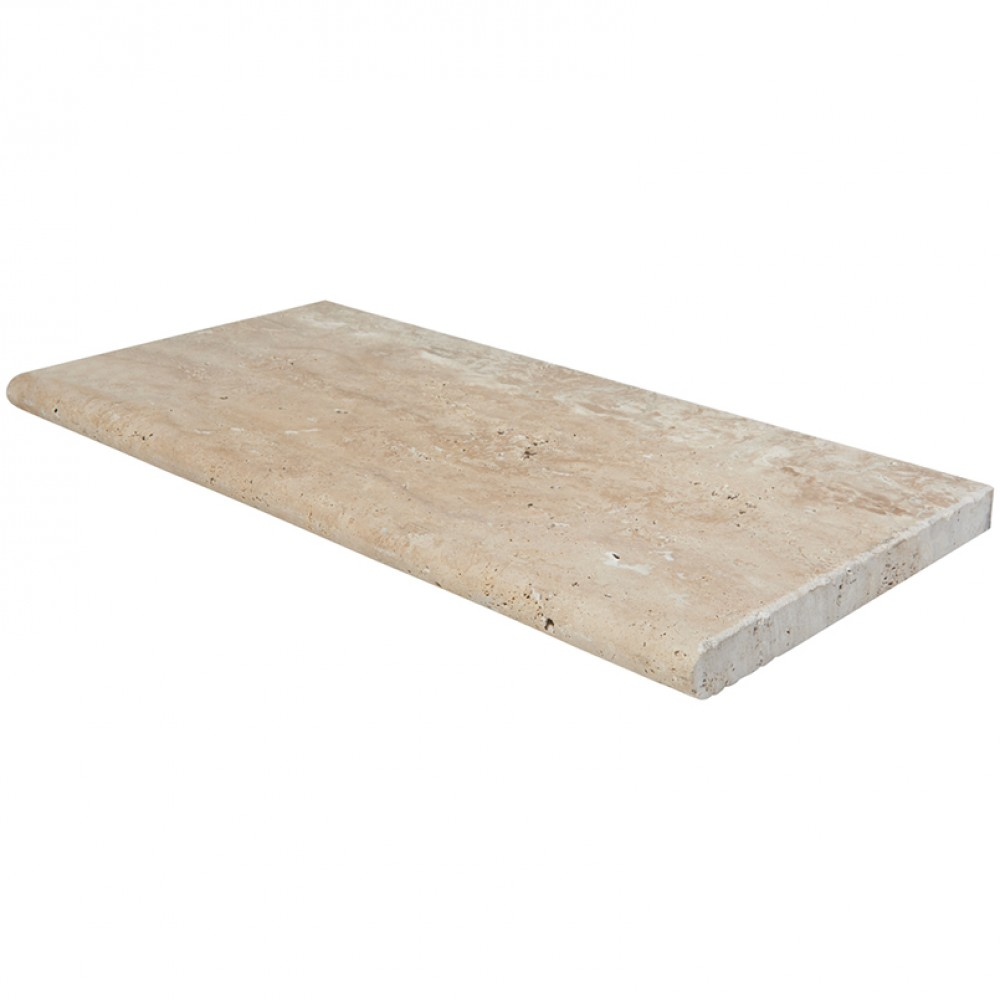 Palermo 16x24 Tumbled Eased Edge Pool Coping
