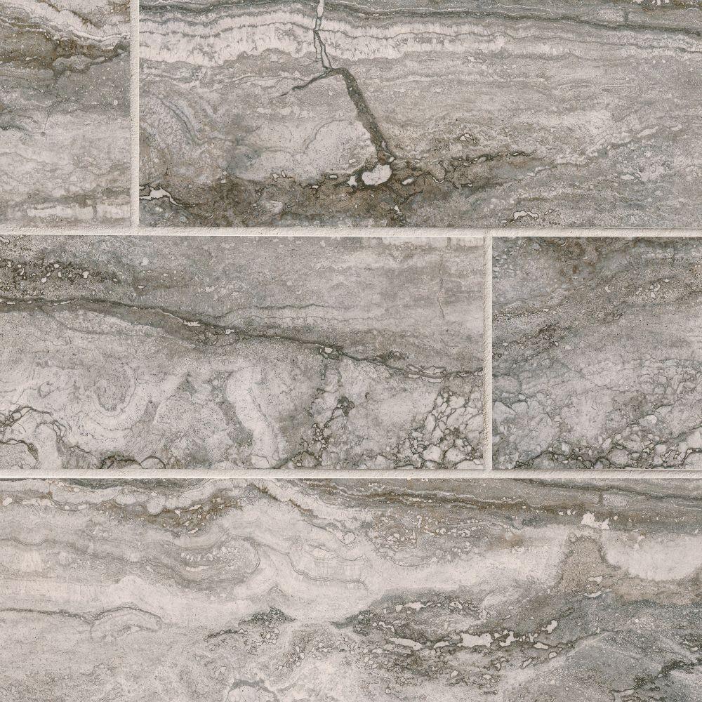 Pietra Bernini Carbone 4x18 Matte Porcelain Tile