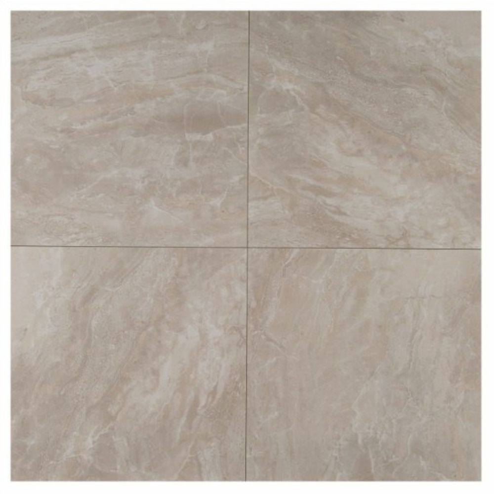 Pietra Pearl 24X24 Polished Porcelain Tile
