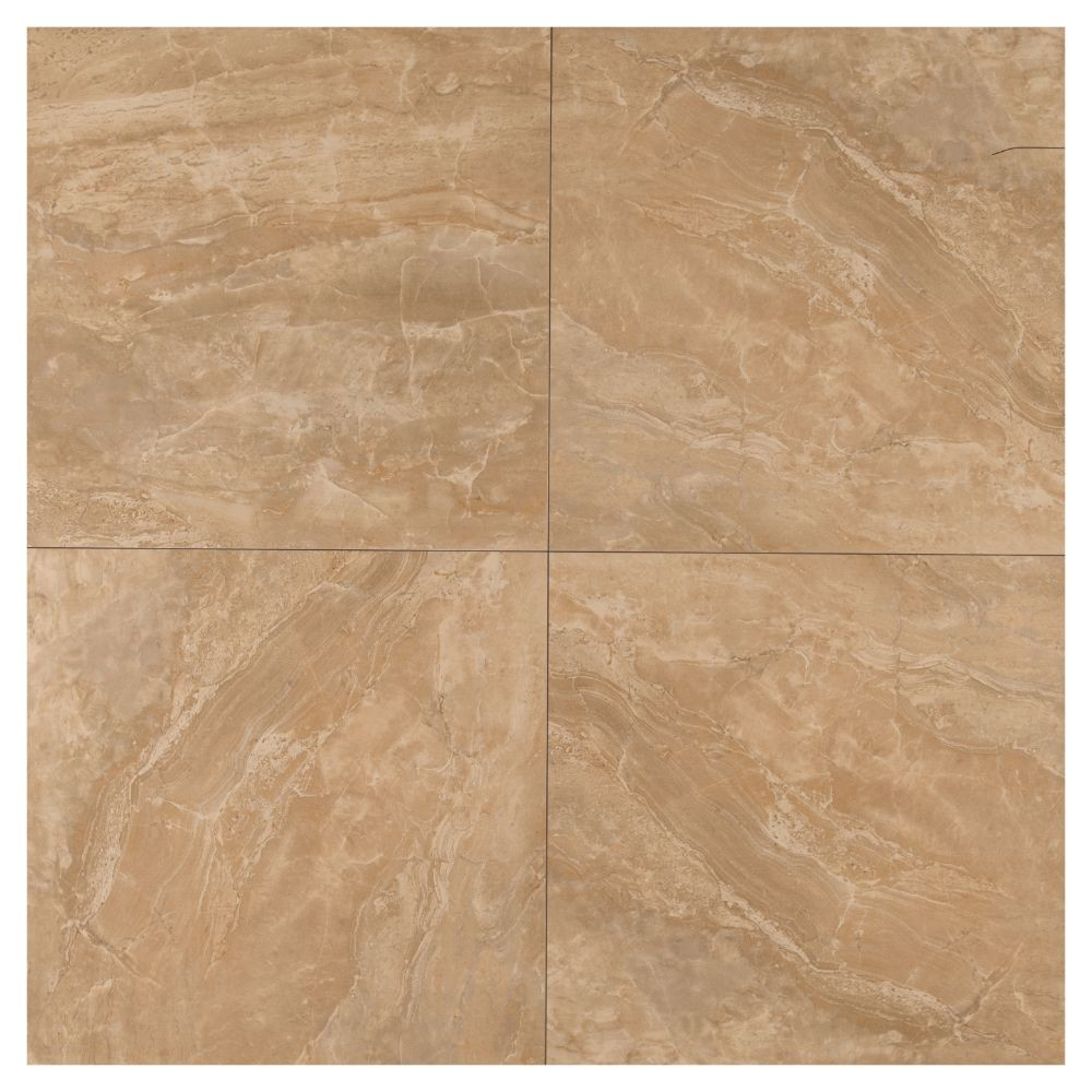 Pietra Royal 18x18 Polished Porcelain Tile