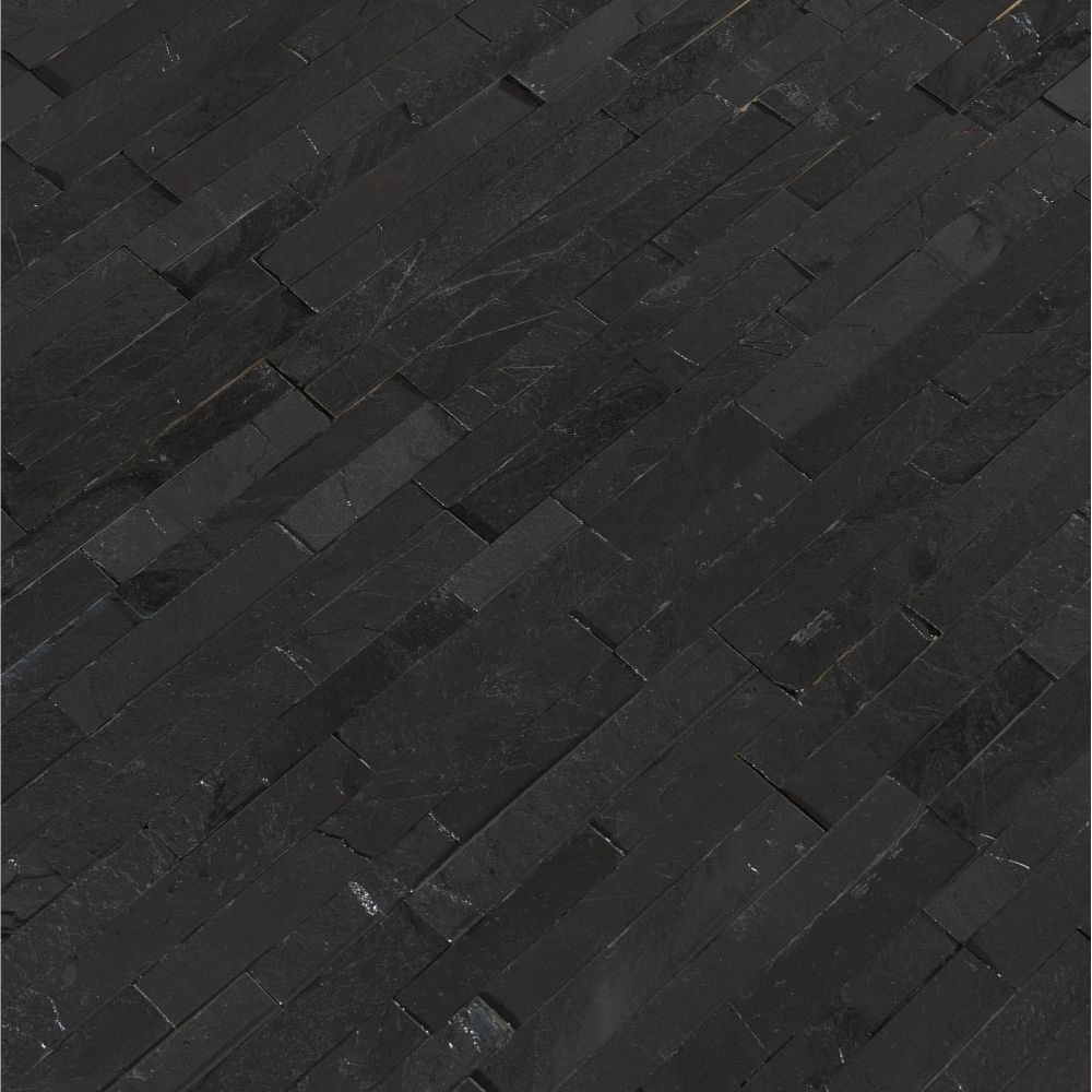 Premium Black 4.5x16 Split Face Mini Ledger Panel