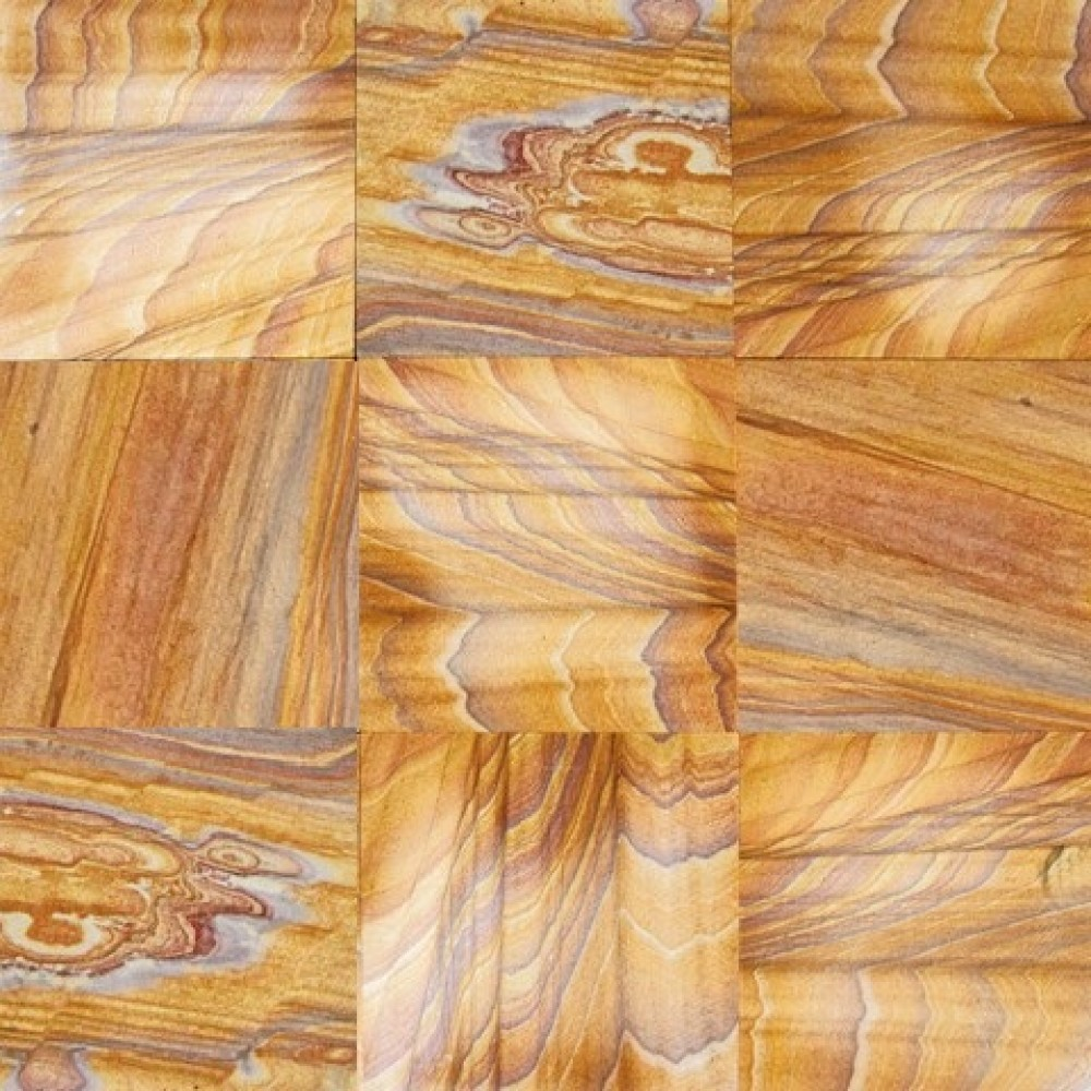 Rainbow Teak 16X16 Gauged