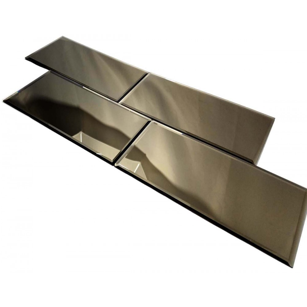 Reflections Gold 8X16 Polished Glass Tile