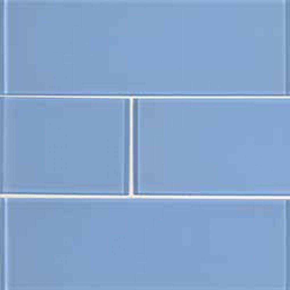 Royal Azure Glossy 4x12 Glass Subway Tile
