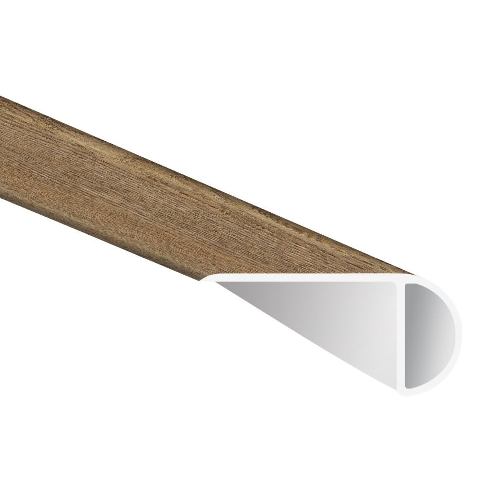 Saddle Oak 1-3/4X94 Vinyl Overlapping Stair Nose
