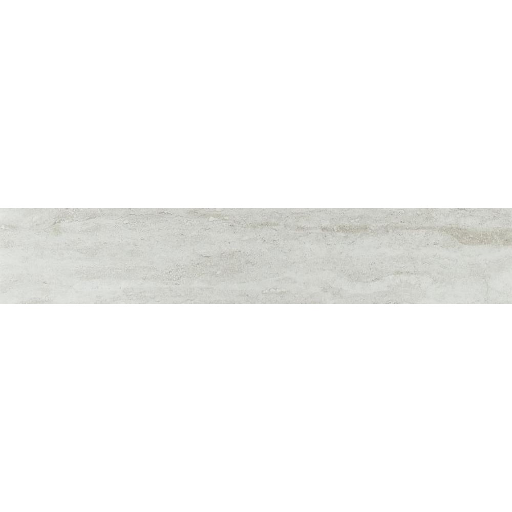 Sande Grey 3X18 Polished Bullnose Porcelain Tile