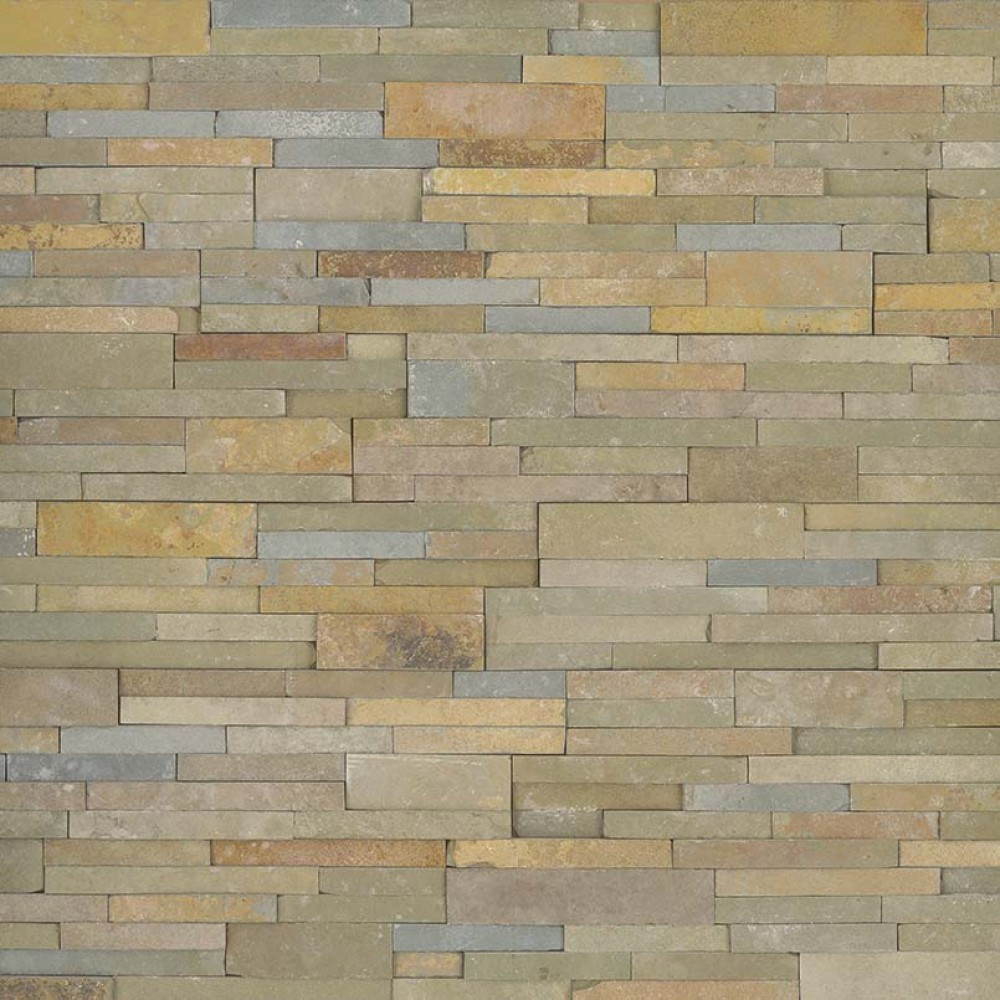 Sedona Vanilla 6X6 Split Face Corner Ledger Panel