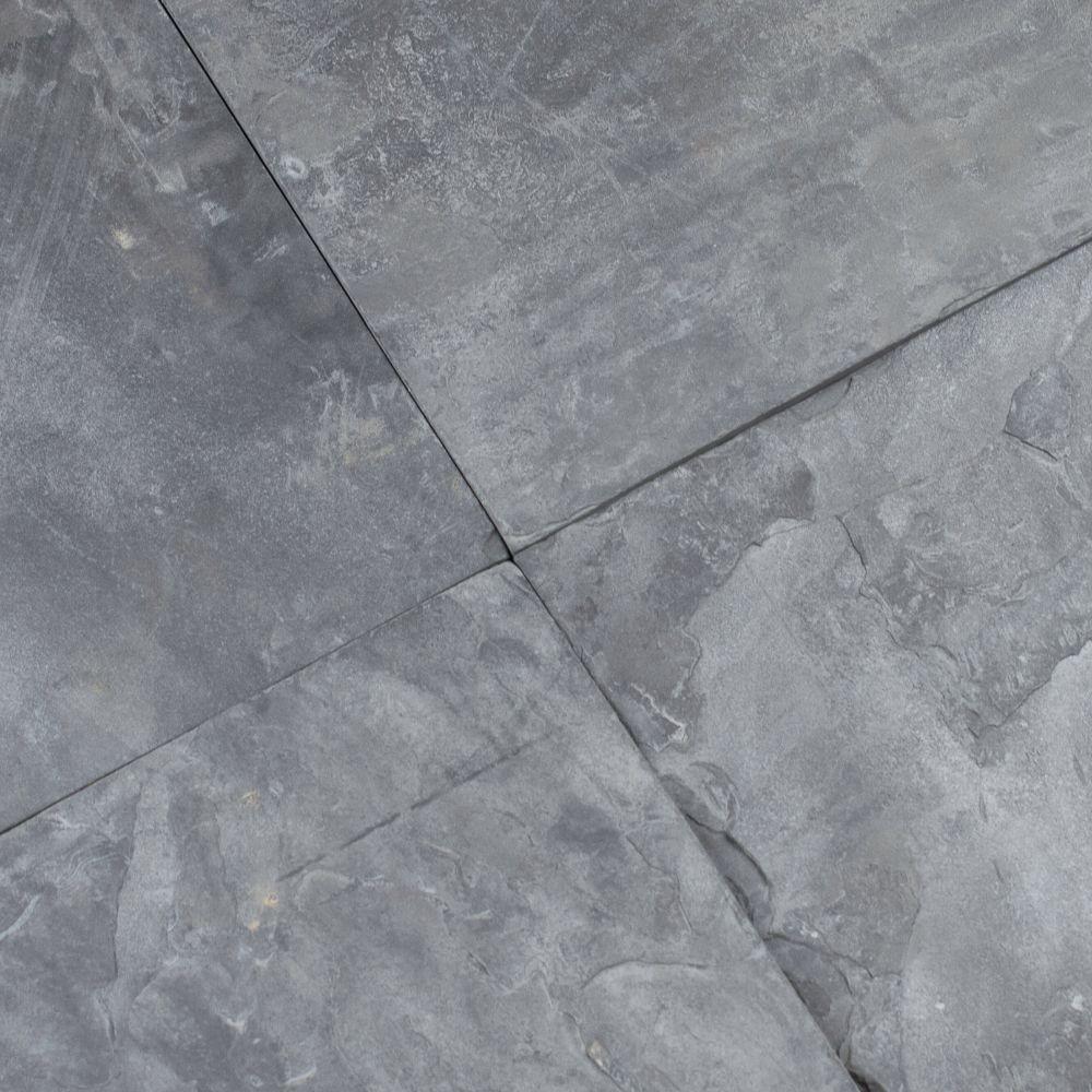 Silver Blue 12X12 Gauged Floor Tile