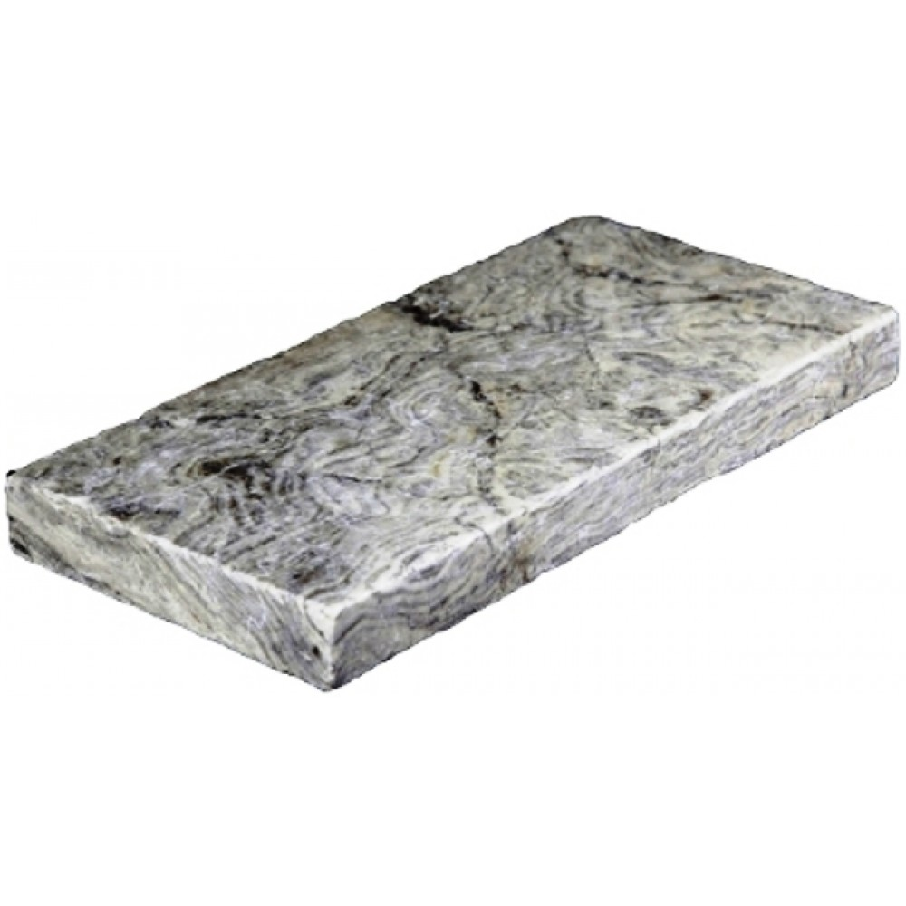 Silver Travertine 6X12 Honed Unfilled Tumbled