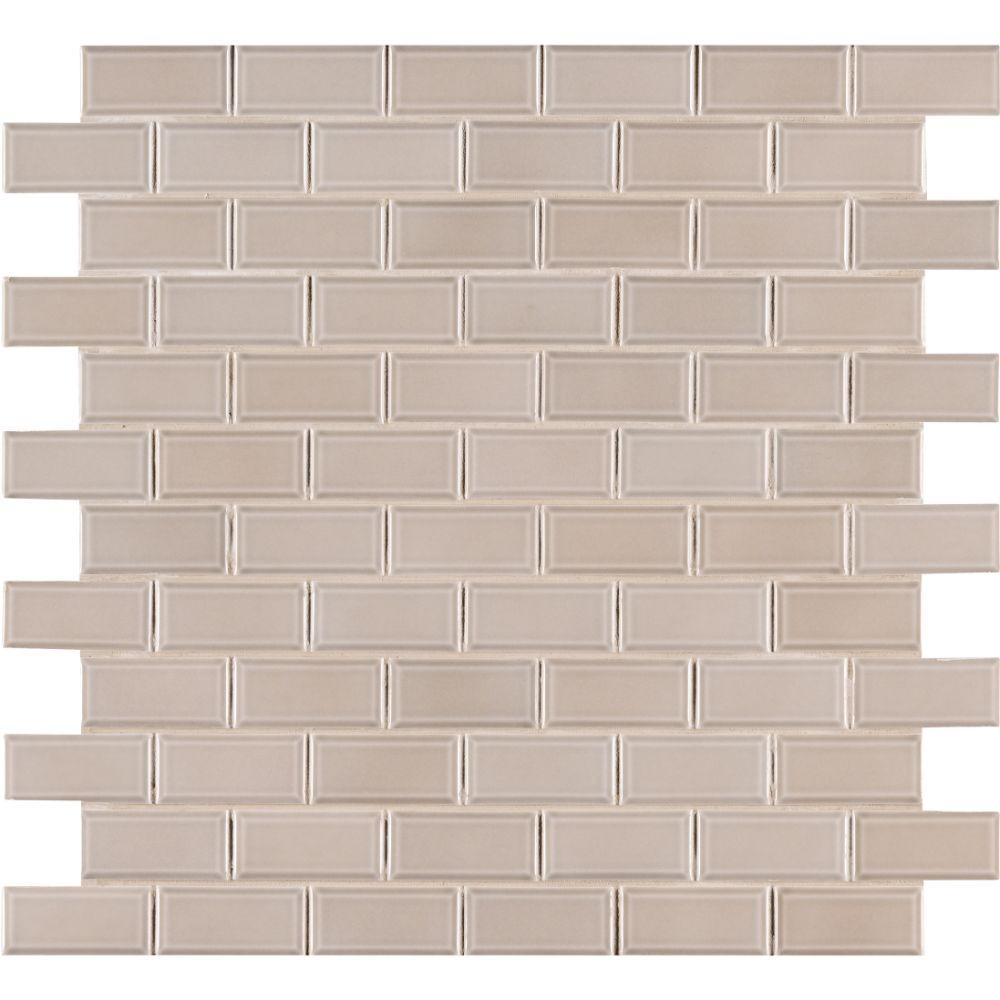 Smoke Gray 2x4 Bevel Ceramic Subway Tile Tilesbay Com