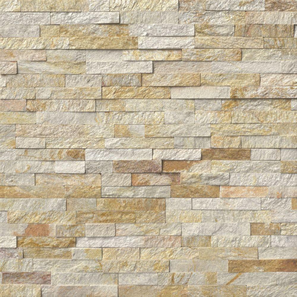 Sparkling Autumn 6x12x6 Split Face Corner Ledger Panel