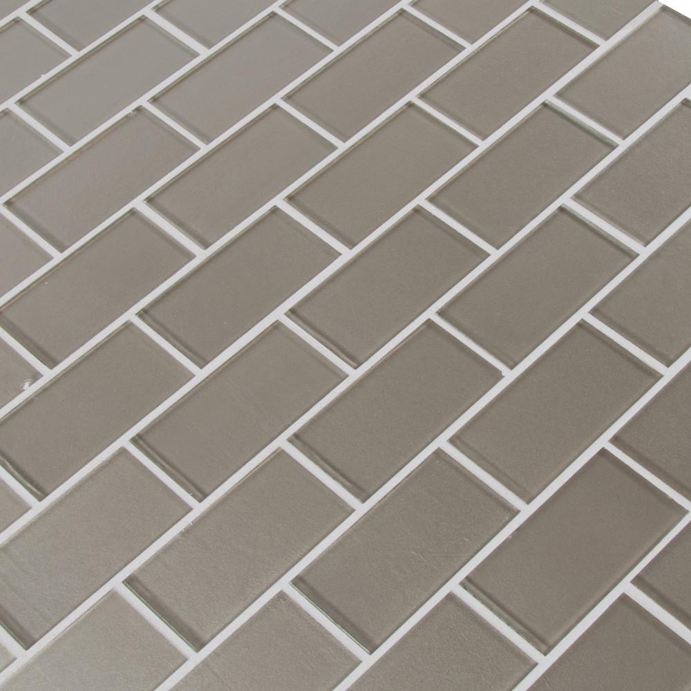 Starlight 2x4 Glossy Glass Subway Tile
