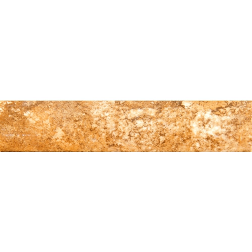 Travertino Walnut 1x6 Qarter Round Glazed
