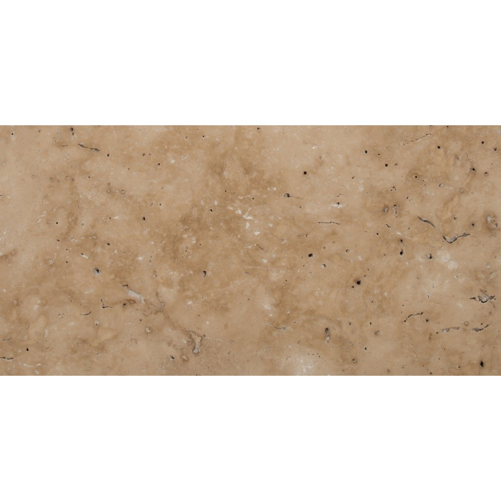 Tuscany Beige 8X16 Honed Unfilled Tumbled Paver