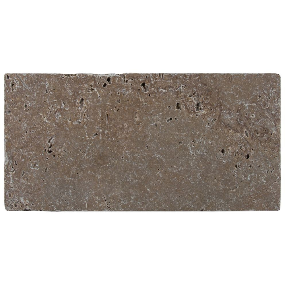Tuscany Chocolade 8X16 Honed Unfilled Tumbled Paver