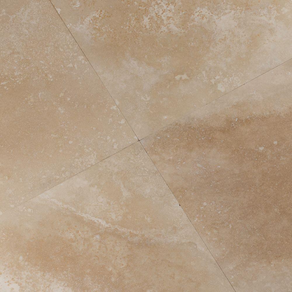 Tuscany Ivory 12X12 Honed / Filled