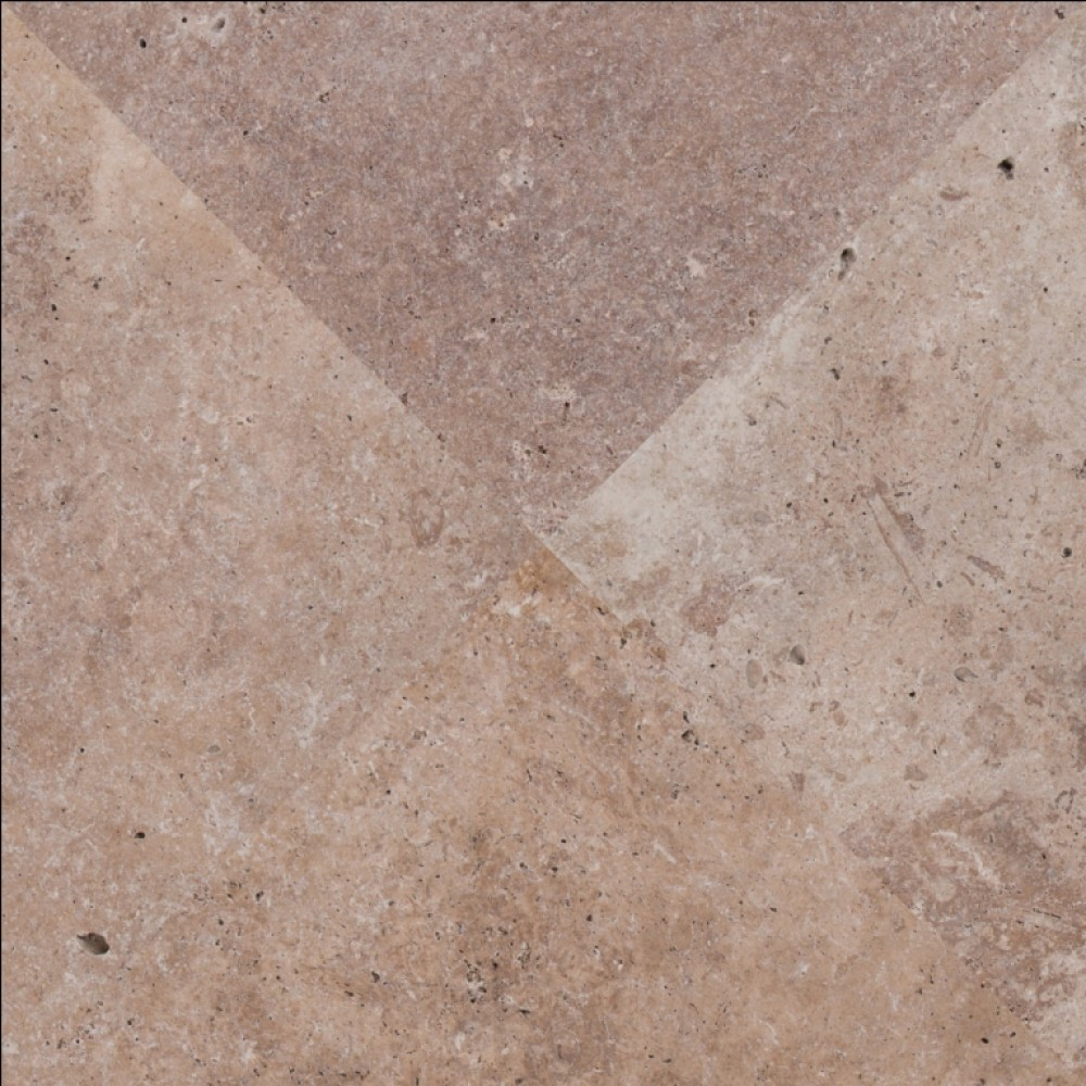 Tuscany Walnut 16X16 Honed Unfilled Tumbled Paver