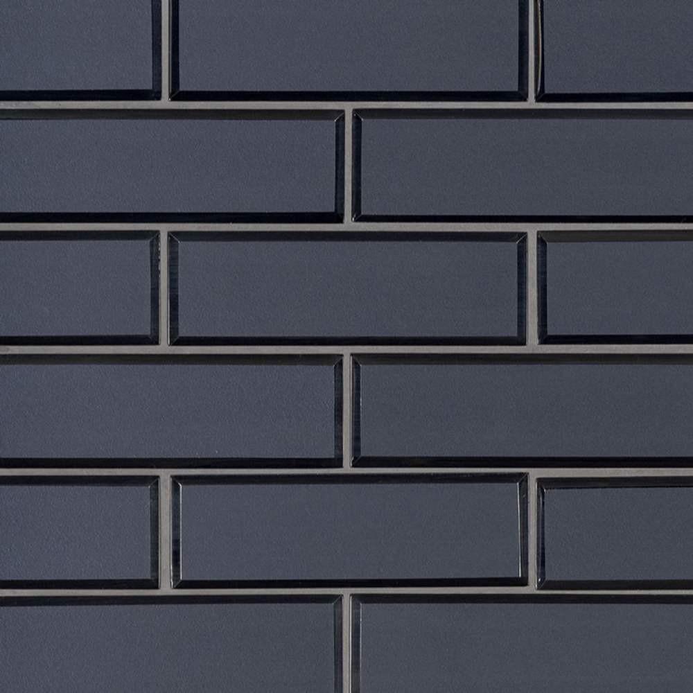 Vague Blue 6mm Glass Subway Tile