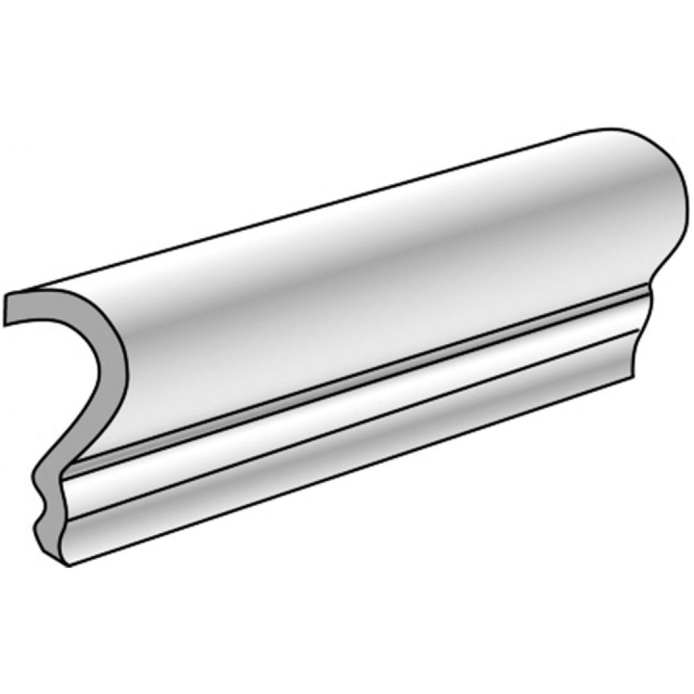 Travertino Beige 2.5X6 V-Cap Glazed