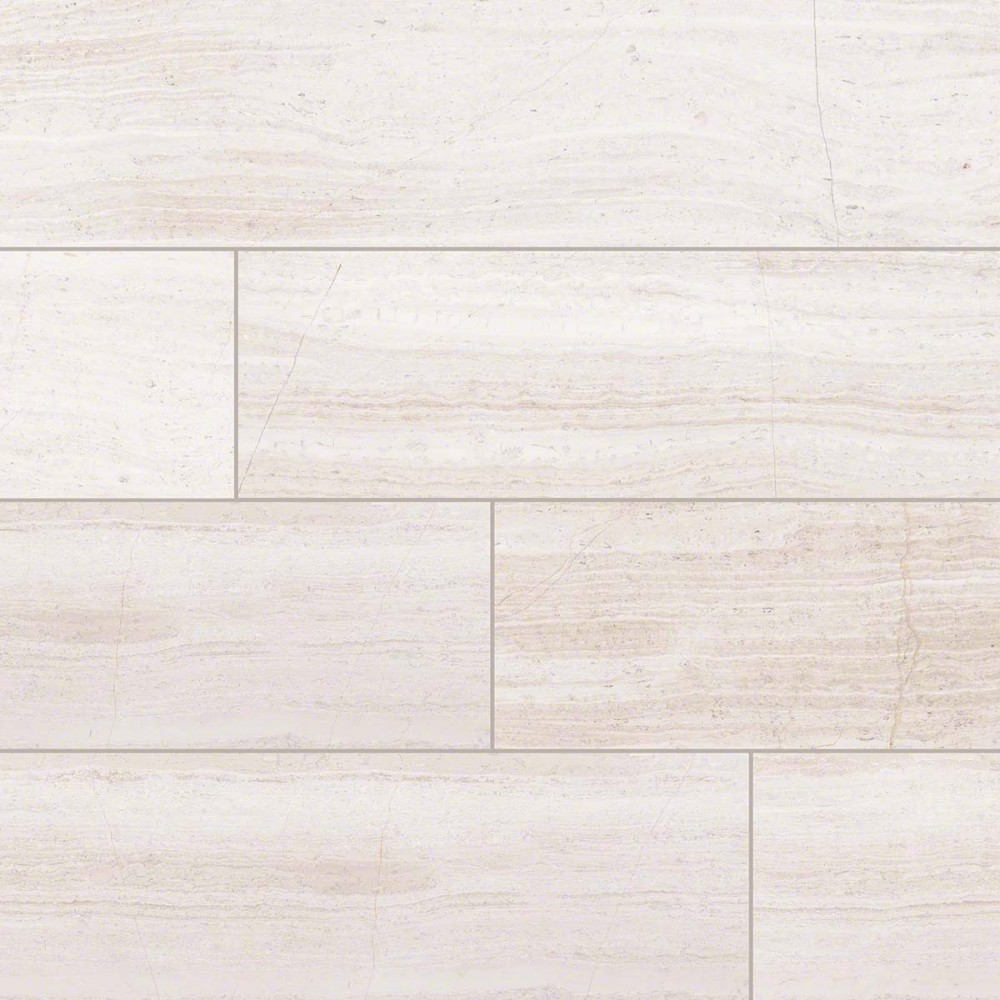 White Oak 18x36 Honed Marble TIle