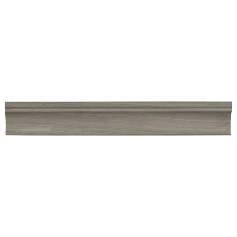Wooden White 2x12 Honed Cornice Molding