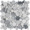 Alaska Gray 12x12 Polished Pebble