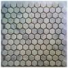 Arabescato Carrara Hexagon 1x1 Polished