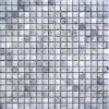 Arabescato Carrara 5/8x5/8 Tumbled Mosaic