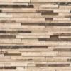 Ashlar Rock Interlocking 8x18 3D Pattern Mosaic